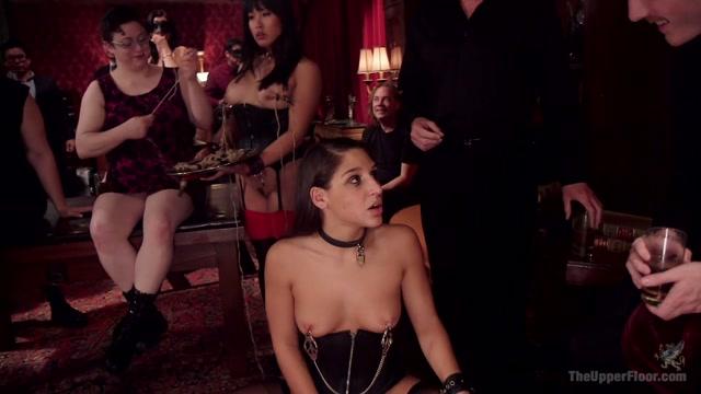 Abella Danger & Marco Banderas & Mia Li in Abella's Anal Initiation - TheUpperFloor