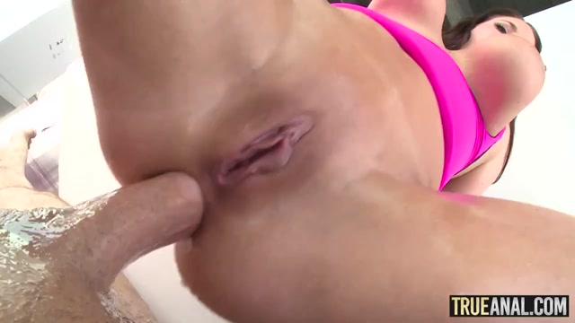 TRUE ANAL Anna Bell Peaks anal gaping adventures