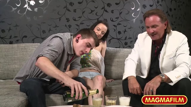 Initiating a young German couple into porn - MagmaFilm