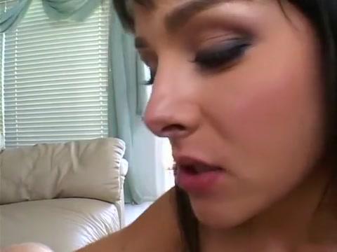 Exotic pornstar Dani Woodward in incredible blowjob, redhead porn clip