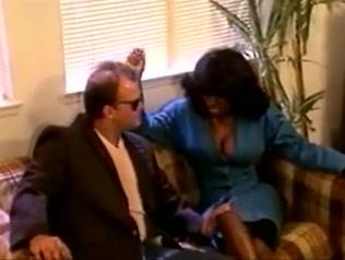 Ebony Ayes fucks a lucky white guy