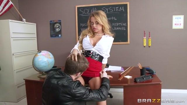 Big Tits at School: Teaching With Her Titties. Corinna Blake, Brick Danger