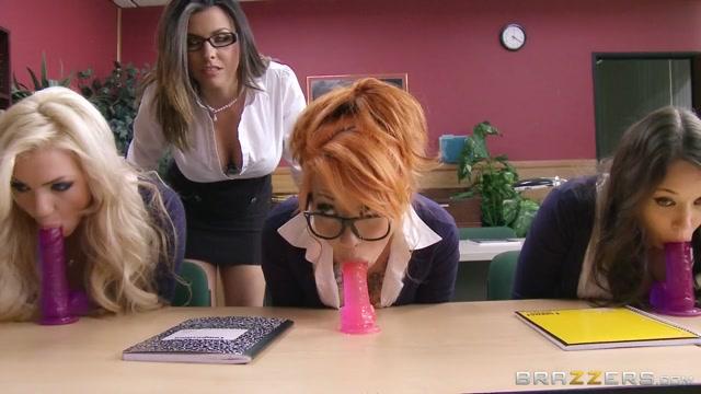 Big Tits at School: School Sucks Balls. Danica Dillon, Erik Everhard