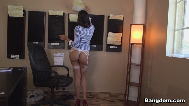 Mercedes Carrera in Our secretary has a big ass! Video