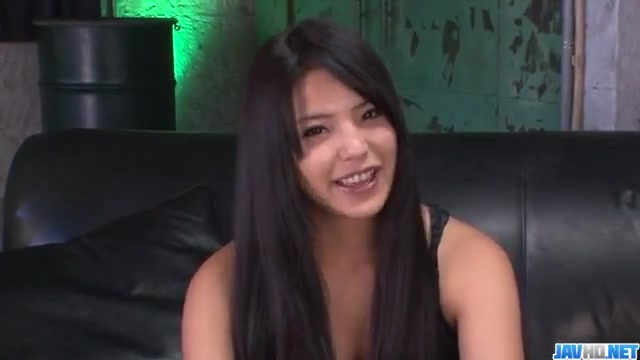 Casting turns wild for cock sucking Eririka Katagiri