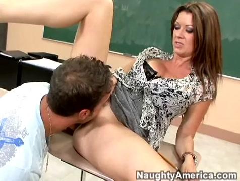 Raquel DeVine & Mikey Butders in My First Sex Teacher