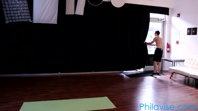Tasha Reign in a very sexy yoga session