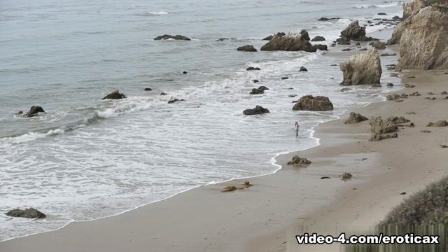 Emma Stoned & James Deen in Ocean's Edge Video
