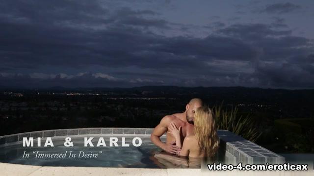 Mia Malkova & Karlo Karrera in Immersed In Desire Video