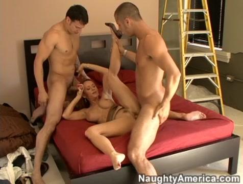 Janet Mason & Anthony Rosano & Danny Mountain in Naughty America