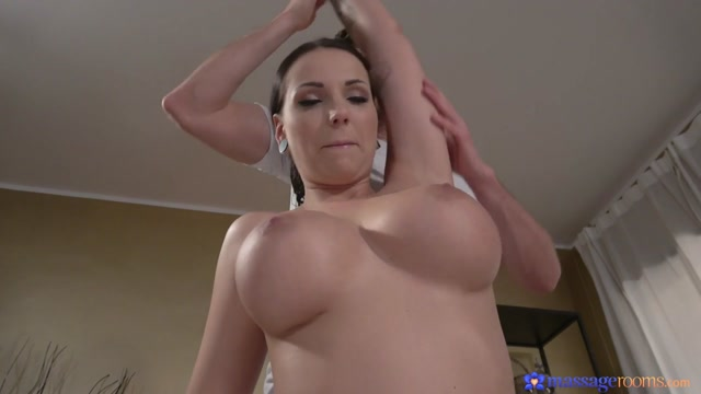 Jolee Love & Kristof Cale in Big Tits German Gives Oily Tit Wank - MassageRooms