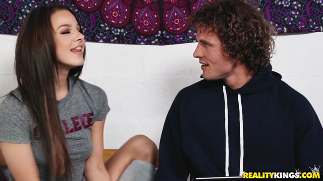 Jade Amber & Evelin Stone & Robby Echo in College Confessions - SneakySex
