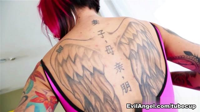 Anna Bell Peaks & Mr. Pete in Inked Angels #05 Video