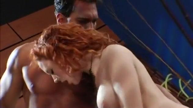 Redheaded Whore Takes A Deep DP