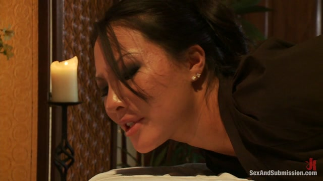 Asa Akira Mr. Pete in The Massage Parlor - SexAndSubmission