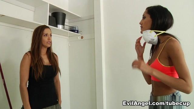 Chloe Amour,Francesca Le,Mark Wood in Facial Vi0lation #03, Scene #02
