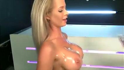 Brooke Lea covered in Oil