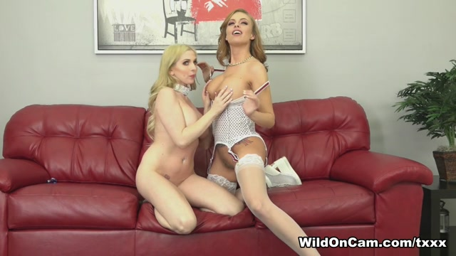 Britney Amber & Christie Stevens in Fun with Britney And Christie - WildOnCam