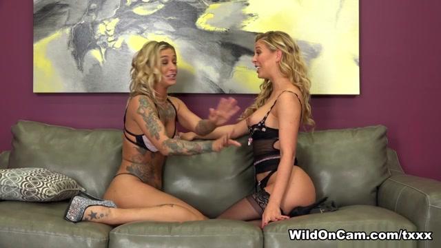 Cherie Deville & Kleio Valentien in Naughty Cherie And Horny Kleio - WildOnCam