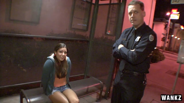 Tiffany Summers & Joe Blow in Tiffany Summers And Joe Blow The Cop Fuck - TightHolesBigPoles