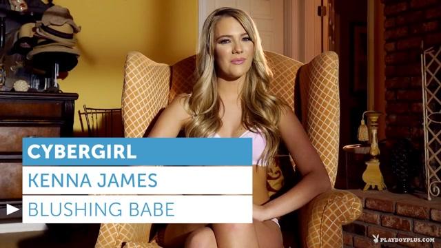 Kenna James in Blushing Babe - PlayboyPlus