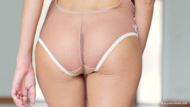 Katya Clover in White Lace - PlayboyPlus