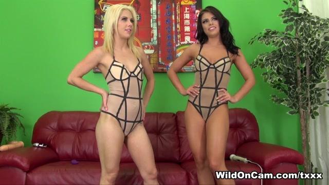 Adriana Chechik & Holly Hanna in Adriana Loves Holly - WildOnCam