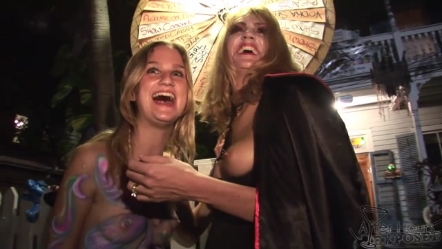 Milf and Younger Girl Licking Pussy at Wild Fantasy Fest After Hours Party - AfterHoursExposed