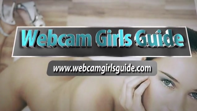 Webcam Girls - Hot Brunette Webcam Girl Touching And Playing