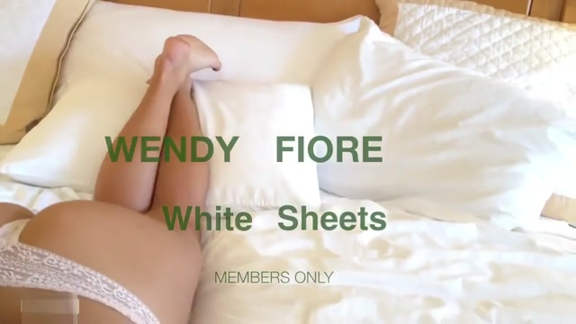 Wendy Fiore White Sheets.