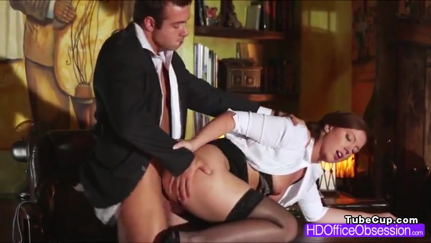 Horny ###ary Maddy OReilly gets tight pussy fuck by her boss
