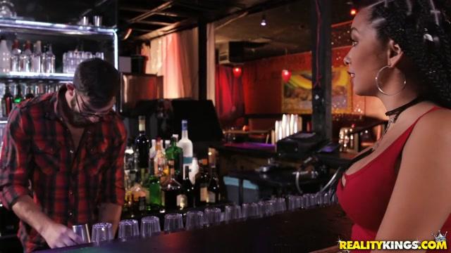 Aaliyah Hadid & Logan Long in Last Call - SneakySex
