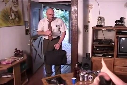 Barett moore take on three cock and give footbang