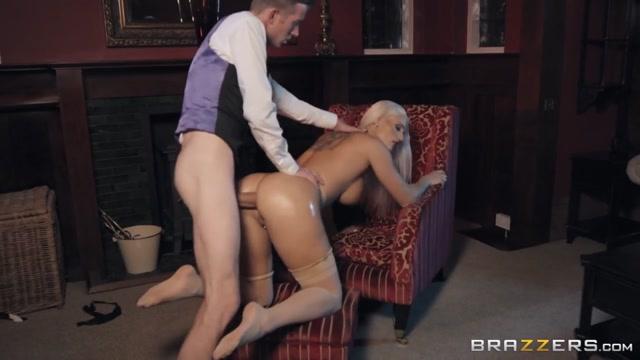 Blanche Bradburry & Danny D in First Class Ass - BRAZZERS