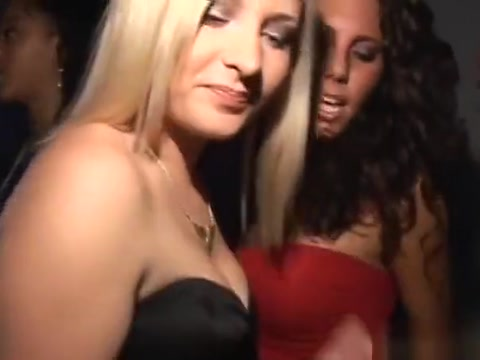 Sexy Night Club Turns Into A Real Sex Orgy With Slutty Babes