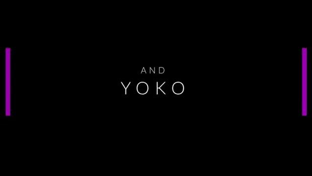 Tgirl Yoko Broken by Lisa's 10 inch Strap on