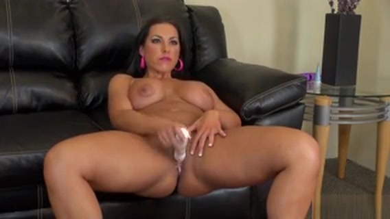 Bodacious Brianna Jordan Slides A Dildo In And Out Of Her Honey Hole