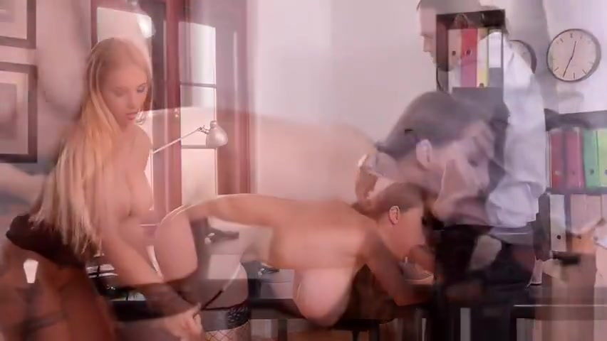 Lucie Wilde and Kyra Hot - Stacked