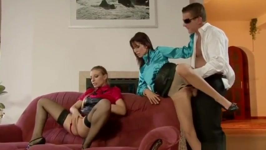 Morgan Moon and Amanda Vamp clothed threesome pt3