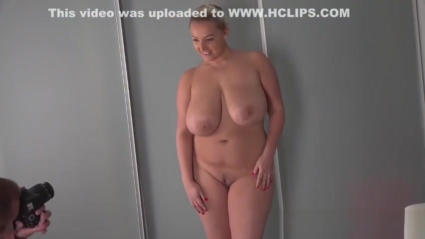 BBW Krystal Swift shows off her curves in a casting