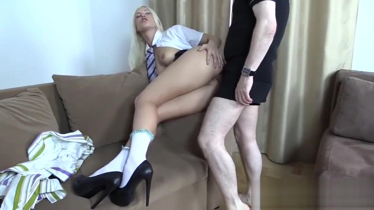 Blanche Bradburry fucking at school uniform