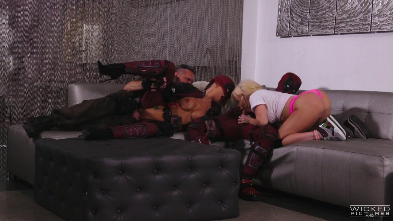 Jessica Drake & Nikki Delano in Deadpool XXX - An Axel Braun Parody, Scene 5 - WickedPictures