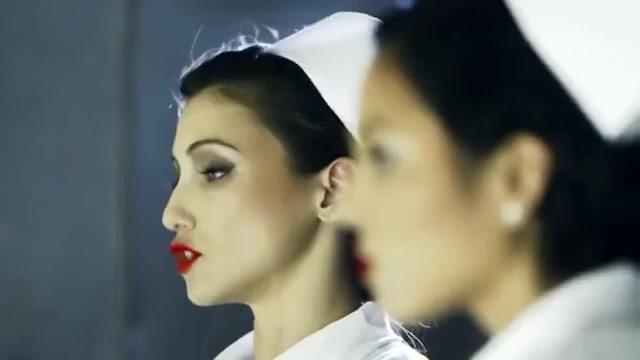 Nurses Skin Diamond and Celeste Star tease Adriana Luna