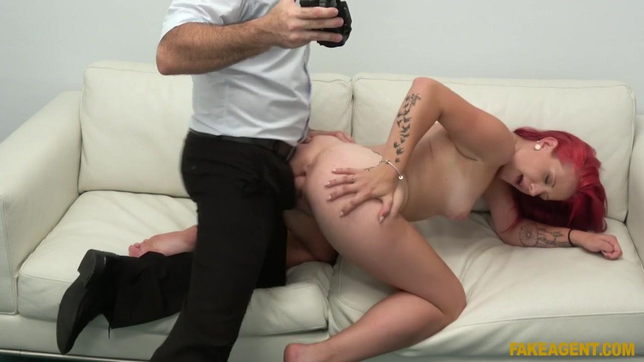 James Brossman & Tiffany Love in Redhead fucked on the desk - FakeHub