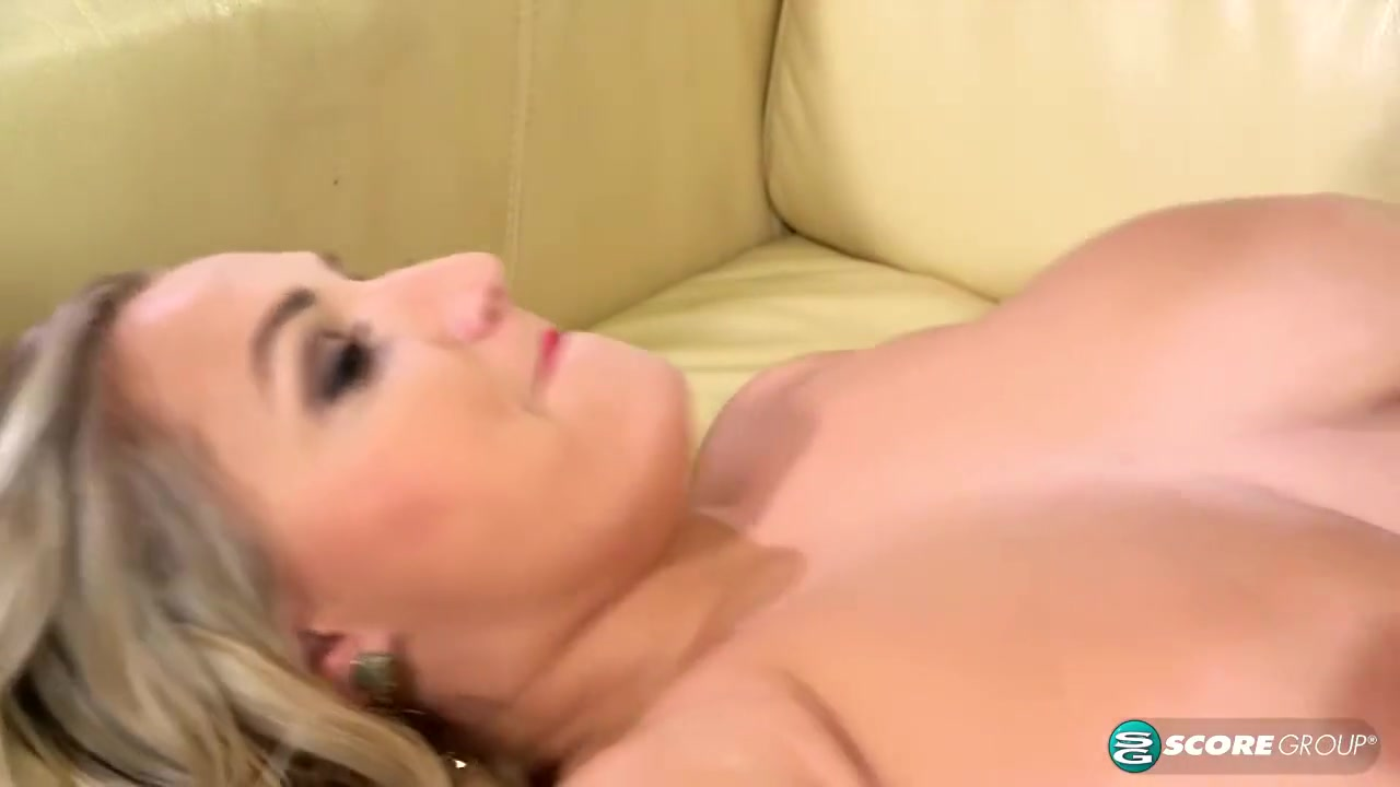 Voluptuous blonde, Krystal Swift can't hold back from fucking guys while her husband is working