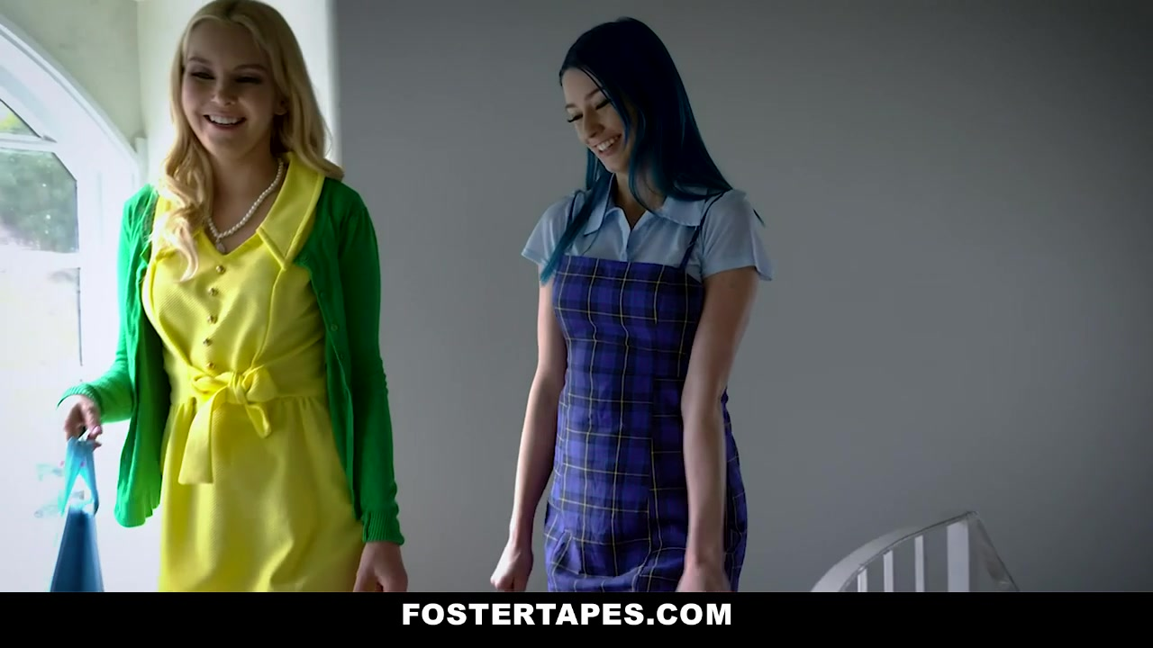 Aaliyah Love & Jewelz Blu in Foster Daughter Gets An Attitude Adjustment - FosterTapes