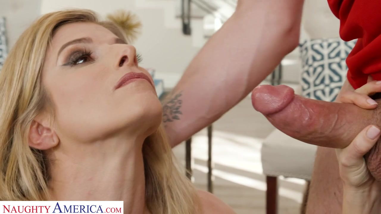 Cory Chase Plays With Her Husband's Bullly's Balls - BigCockBully