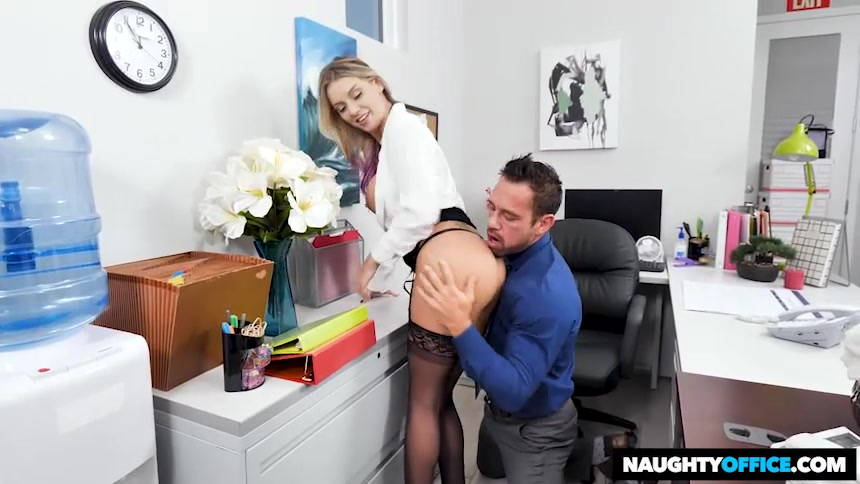 Kenzie Taylor Gets Fucked In The Office - NaughtyOffice
