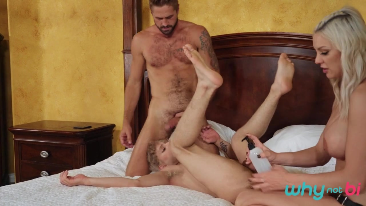 Kenzie Taylor & Wesley Woods & Daniel Hausser in Pegged and Pranked - WhyNotBi