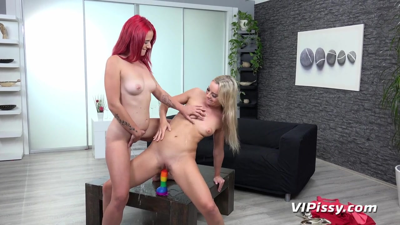 Tiffany Love and Victoria Pure in HD Pissing Video Wet And Wild at Vipissy